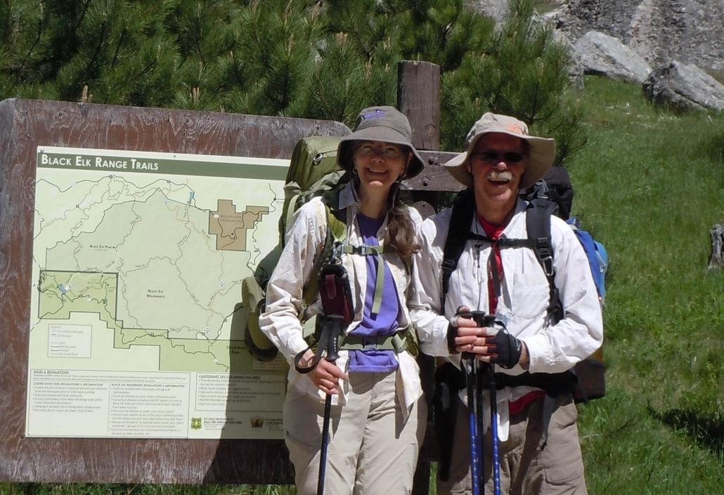 Carson Iceberg Wilderness - Rod & Deb